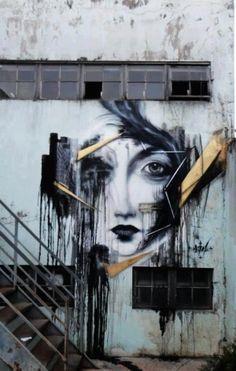 Street art. @designerwallace by bessie