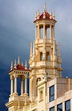 View from Plaza del Ayuntamiento (Valencia, Spain)