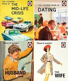 The Frivolous Bibliophile Ladybird Books for Grown-Ups