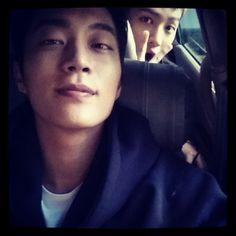 Doojoon selca with Kikwang #beast #kpop