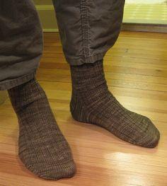 Mr. Pitt's Socks (aka Dad Socks) by Kaitlyn Wong