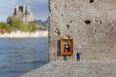 Le Street art miniature de Slinkachu - http://www.blog.stripart.com/art-urbain/le-street-art-miniature-de-slinkachu/