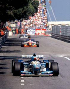 Michael Schumacher | Benetton B195 | Monaco Grand Prix, 1995.