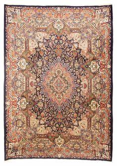 Orientteppich muster  Orientteppich Muster | gefärbt gewebt | -blau grau- Vintage ...