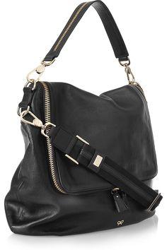 ANYA HINDMARCH  Maxi Zip leather shoulder bag