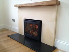 Stove Fireplace, Fireplace Design, Fireplace Ideas, Inset Stoves, Chimney Breast, Wood Burner, Fireplace Surrounds, Design Inspiration, Design Ideas