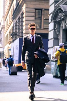 9915008a9e6 Giorgio Armani Fall Collection Menswear Shoot NYC - The Versatile Gent  Modern Gentleman