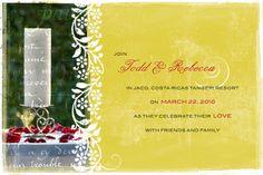 A Simple Wedding Invitation | Graphic Design | PSHERO