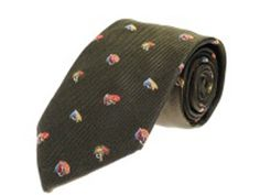 Fishing, shooting and game ties in silk and wool available to purchase online with FREE UK delivery on orders over Tie Accessories, Fly Tying, Fly Fishing, Green, Image, Fly Tying Patterns