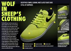 Deceivingly simple, Nike Skateboarding's new Nike SB Lunar One Shot is in fact one of the most technically advanced skate shoe out in the market today. Nike Sb, Nike Skateboarding, Wear Test, New Product, Product Shot, Skate Shoes, New Shoes, Trainers, Kicks