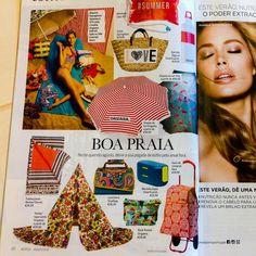 Snailbag en el número de agosto 2015 de la revista portuguesa ACTIVA. Muito obrigados! ¡Gracias! : D #Snailbag #lunchbag #tuppertime #women #magazine #shopping #playa #verano #summer #beach #handmade #MadeInSpain #ShopOnline