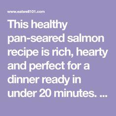 Pan Seared Salmon with Sun-Dried Tomato Cream Sauce Seared Salmon Recipes, Pan Fried Salmon, Easy Salmon Recipes, Pan Seared Salmon, Tomato Cream Sauces, Salmon Seasoning, Garlic Butter Chicken, Chicken Bites, Yum Yum Chicken