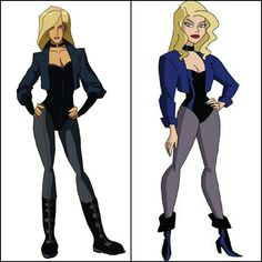 Black Canary (Young Justice vs. Justice League Unlimited)
