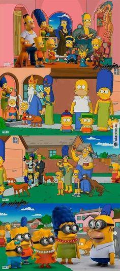 Is lisa meant to be in aot uniform? Homer Simpson, Lisa Simpson, Futurama, Simpsons Springfield, Simpsons Simpsons, Los Simsons, Bd Art, Simpson Wallpaper Iphone, Cartoon Crossovers