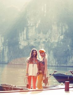 Free People in HaLong Bay