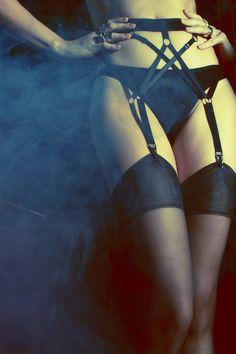Hopeless Lingerie - 'Ramona' Suspender -- Photo: Lani Lee (for Playboy)  -- Styling: Neva Kaya -- MUAH: Melissa Abad -- Model: Irina Voronina