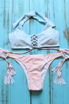 This is summer necessity! #bikini #halter #swimsuit
