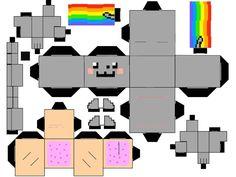 PaperToy_Nyan Cat