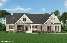 Home Plan The Hardesty by Donald A. Gardner Architects