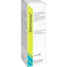 DERMOWAS Konzentrat:   Packungsinhalt: 100 ml Konzentrat PZN: 00613375 Hersteller: Dr. August Wolff GmbH & Co.KG Arzneimittel Preis: 8,09…