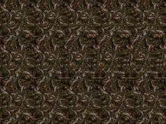 """Horse Illusion - Stereogram"" -- I absolutely HATE these things where you're supposed to stare intently until you see the hidden image. I can never, ever see them. Every time I come close, my brain snaps my eyes back into focus."