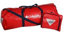 Columbia Pfg Barrelhead Duffel Sport Bag Size Small Fishing Equipment Summer Boating Black/green Discounts Sale