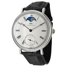 IWC Men's Portofino Vintage Collection Watch featuring a Moon Phase. A one of a kind limited edition timepiece- Only 500 piece exist worldwide!