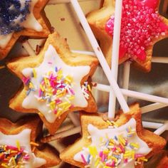 Biscuit fairy wands