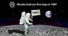 We also took our first steps in 1969.