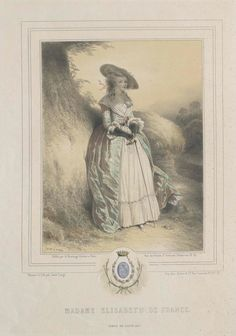 Louis XVI's youngest sister, who shared his imprisonment .