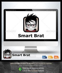 Smart Brat Logo (Humans)