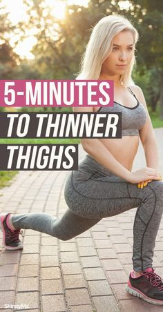 Add this thinner thigh workout to your routine today! It incorporates cardio and muscle building for a total transformation! Thinner Thighs Workout, Butt Workout, Leg Workouts, Fitness Exercises, Summer Legs, Workout To Lose Weight Fast, Workout Routines For Women, Skinny Ms, Muscle Building Workouts