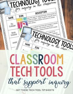 It's hard to stay with it when classroom technology constantly changes. Classroom tech tools that we use every day with our students change too! Click through to see the top five classroom tech tools you need to try right now in your classroom. These are