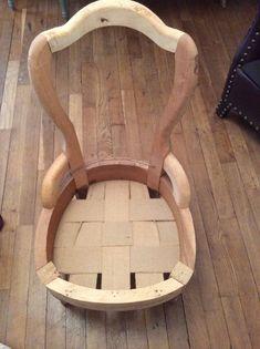 Diy Furniture Upholstery, Furniture Makeover, Sofa Chair, Armchair, Patchwork Pillow, Diy Home Decor, Artisan, Interior, Vintage