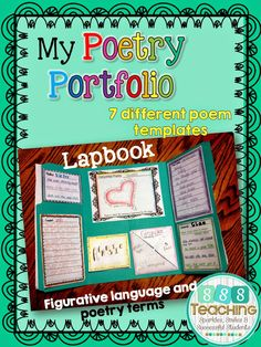 Poetry Portfolio Lapbook Assessment