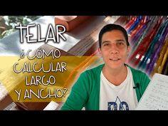 2 Fórmulas Matemáticas para CALCULAR largo y ancho para TEJER en TELAR MARÍA. Muy FÁCIL!!! - YouTube