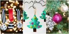 Homemade Christmas Ornaments to Hang on Your Tree