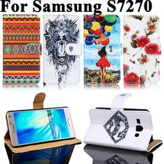 Painted PU Leather Cases For Samsung Galaxy Ace III 3 S7270 S7272 Covers Card Holders Anti-Scratch Plastic Wallet Flip Holster #>=#>=#>=#>=#> Click on the pin to check out discount price, color, size, shipping, etc. Save and like it!