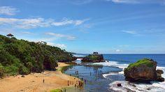Side of Kukup Beach