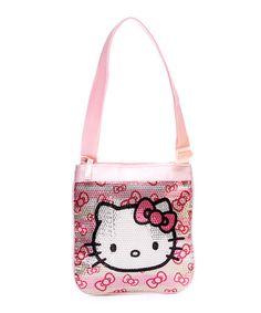 Love this Hello Kitty Champagne Wishes Passport Handbag by Hello Kitty on #zulily! #zulilyfinds