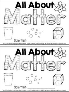 Science Matters: Learning About the States of Matter with