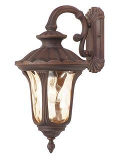 Livex Lighting 7653-58 Oxford Wall Light Imperial Bronze