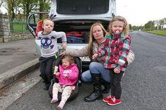 Sabrina and her three children in Tallaght, Dublin Irish News, Family Of Four, Three Kids, Dublin, Google Search, Live, Children, Young Children, Boys