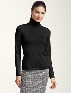 A staple for the fall and winter! WHBM has a turtleneck sweater similar to this one that I love!