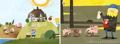 Fiete a day on a farm iPad Android kids app
