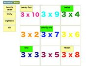 Times Tables online game - Match up the calculation with the answer. Nice and simple starter for numeracy lessos. Not just 3 x table either! Math Multiplication Games, Math Games, Maths, Star Citizen, Teaching Tips, Teaching Math, Space Games, Times Tables, Numeracy