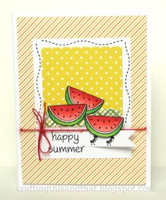 Lawn Fawn - Happy Summer, Pink Lemonade paper _ crafting this and that: Lawn Fawn and Perfect Paper Crafting Blog Hop!!