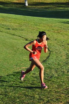 Coon Rapids Girls Cross Country 2014 - Conference - Elk River 20141008 - Melissa Truong