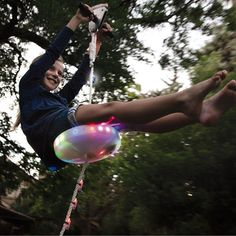 A light-up zipline. | 21 Products That Will Let Everyone Know You've Made It In Life