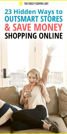 Wondering how to save money shopping online? Aren't we all? Sure, shopping online is convenient. But when you know the secret ways to save, it can also be cheaper than shopping in store. The Krazy Coupon Lady shows you the best ways to make sure you save every time you shop online with these online shopping hacks and money-saving tips. #savemoney #shoppingtips Store Hacks, Shopping Hacks, Online Shopping, Best Money Saving Tips, Saving Money, Birthday Freebies, Money Shop, Coupon Lady, Online Coupons